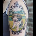 Dog Portrait Tattoo-Collective Studios Ink