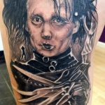 Edward Scissorhands tattoo-Collective Studios Ink